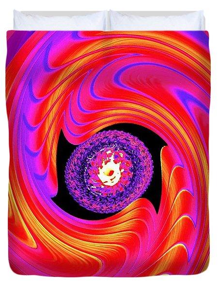 Luminous Energy 8 Duvet Cover by Will Borden