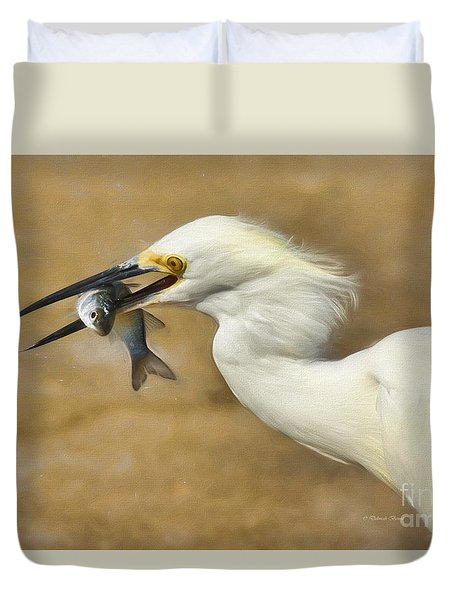 Lunch Is Served Duvet Cover