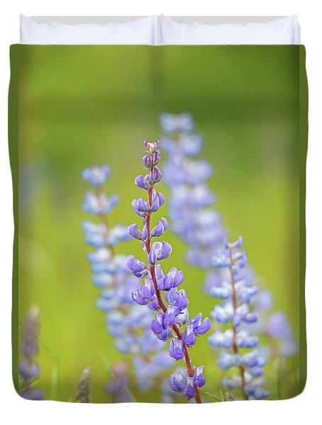 Lupine Duvet Cover