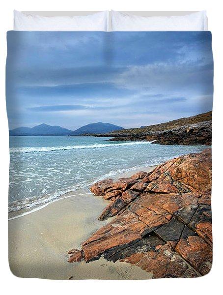 Luskentyre, Isle Of Harris Duvet Cover
