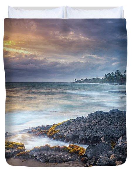 Lyman's Sunset Duvet Cover