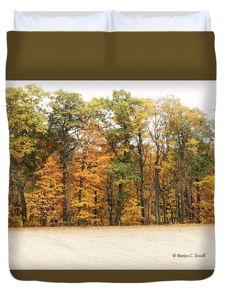 M Landscapes Fall Collection No. Lf64 Duvet Cover