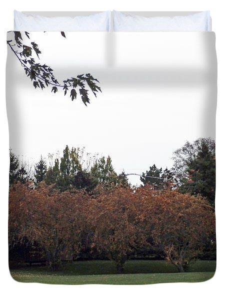 M Landscapes Fall Collection No. Lf68 Duvet Cover