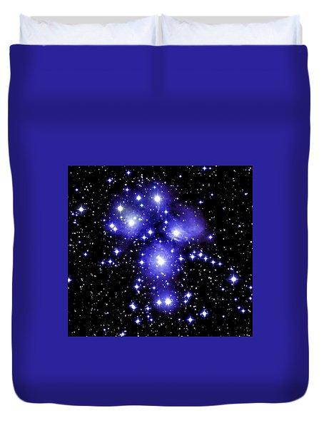 M45 Pleiades Duvet Cover