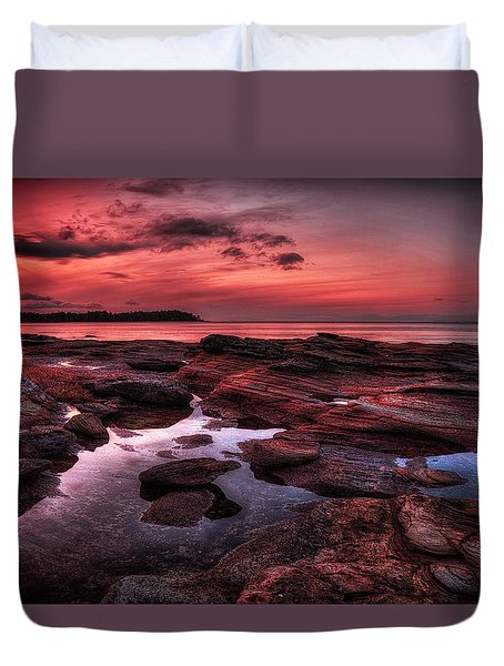 Madrona Duvet Cover by Randy Hall