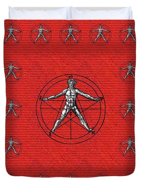 Magic, Occult, Mystic, Symbolism Duvet Cover