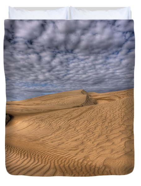 Magic Of The Dunes Duvet Cover