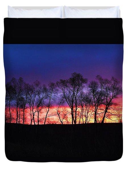 Magical Sunrise Duvet Cover