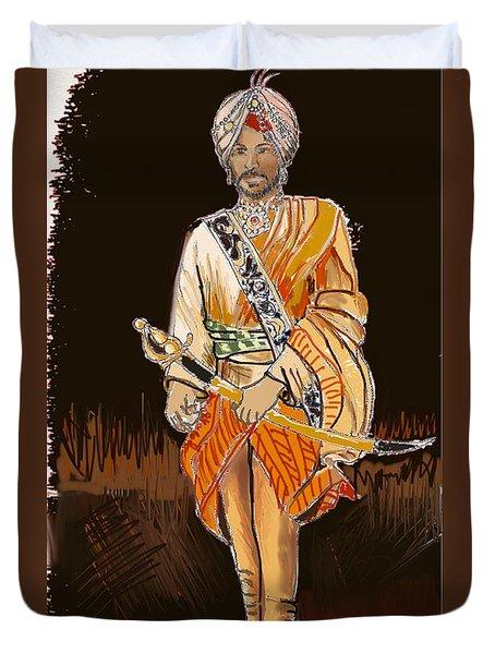 Maharajah Daleep Singh  Duvet Cover
