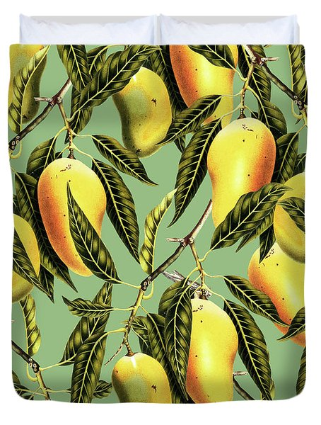 Mango Season Duvet Cover by Uma Gokhale