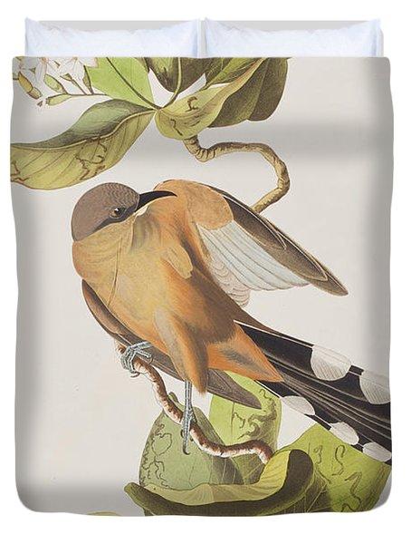 Mangrove Cuckoo Duvet Cover