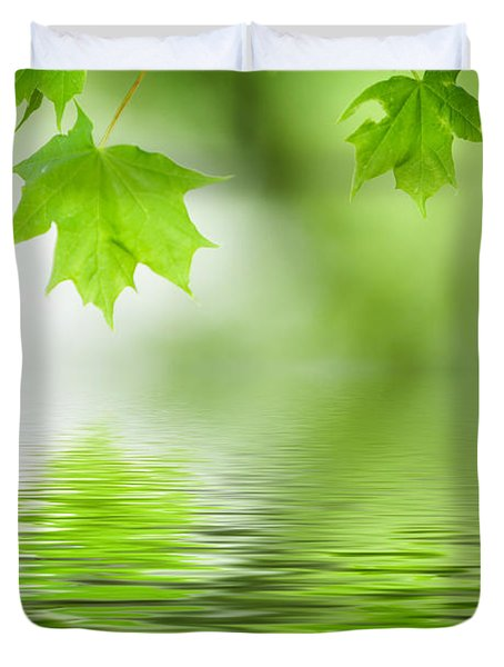 Maple Tree Duvet Cover