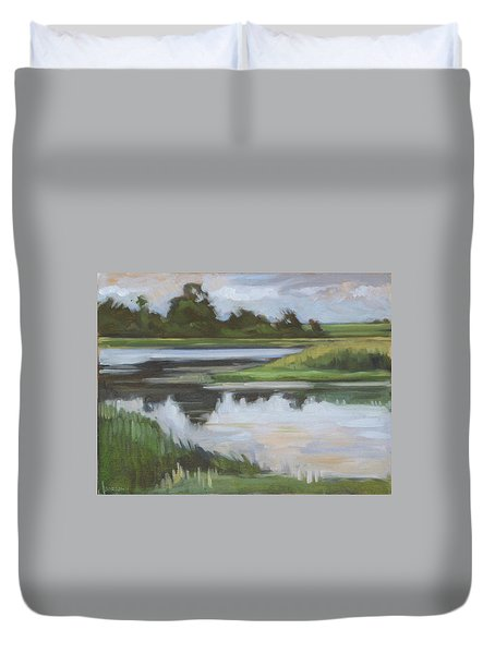 Marsh, June Afternoon Duvet Cover