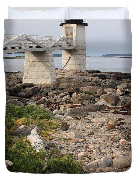 Marshall Point Lighthouse Duvet Cover
