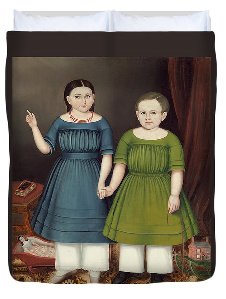 Mary And Francis Wilcox Duvet Cover