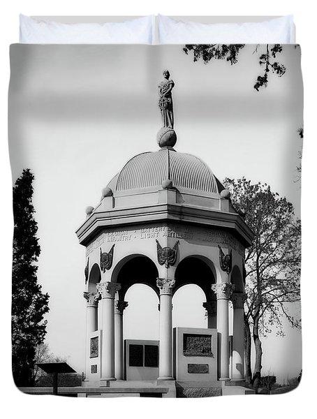 Maryland Monument - Antietam Duvet Cover