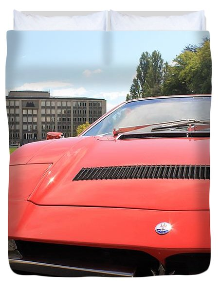 Maserati Merak Ss Duvet Cover