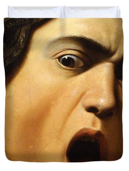 Medusa Duvet Cover by Caravaggio