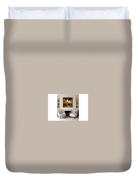 Meeting Duvet Cover