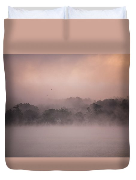 Duvet Cover featuring the photograph Meredith New Hampshire by Robert Clifford
