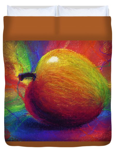 Metaphysical Apple Duvet Cover by Kd Neeley