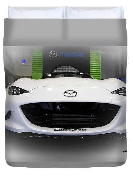 Miata Signed Duvet Cover
