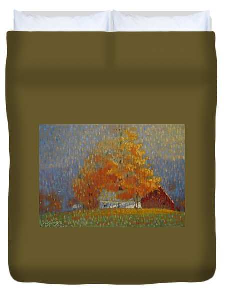 Middle Farm Foliage Duvet Cover