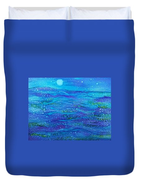 Midnight Swim Duvet Cover