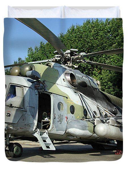 Mil Mi-17 Hip Duvet Cover