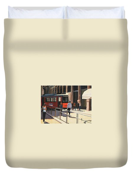Milan Trolley Duvet Cover