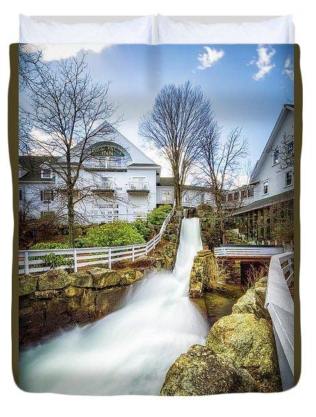 Mill Falls Duvet Cover by Robert Clifford