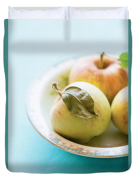 Mini Apples Duvet Cover