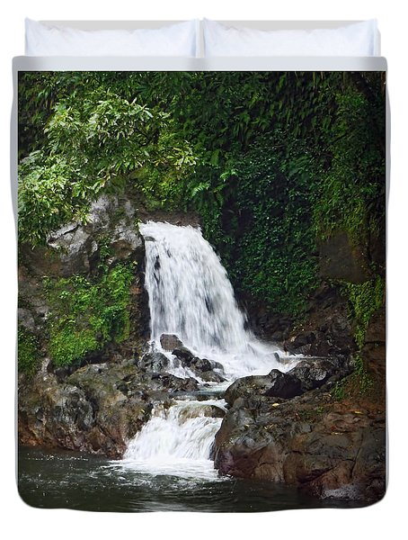 Mini Waterfall Duvet Cover by Pamela Walton