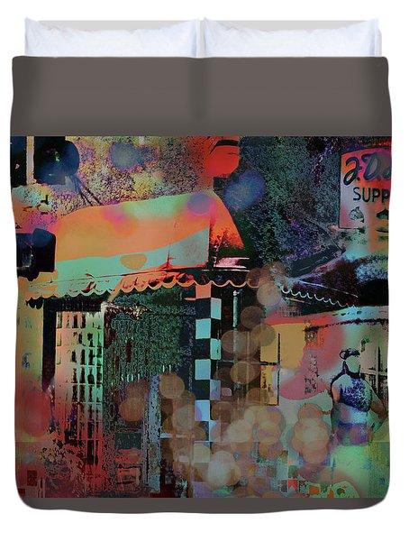 Minneapolis Collage Duvet Cover