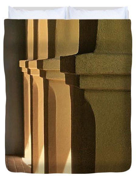 Mission Arches Pano Tnt Duvet Cover