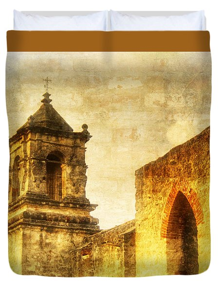 Mission San Jose San Antonio, Texas Duvet Cover