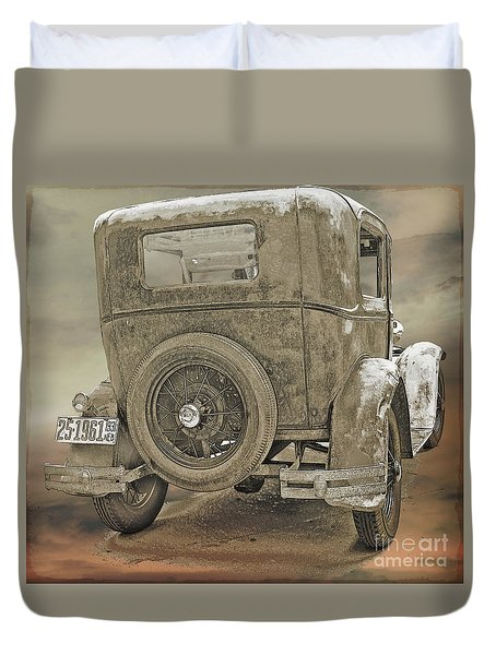 Model A Duvet Cover