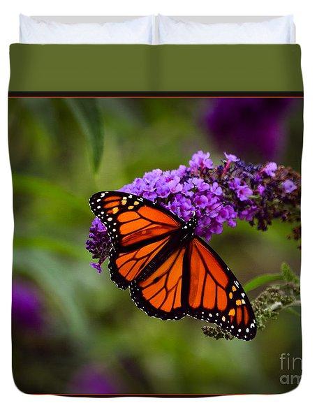 Monarch Duvet Cover by Brenda Bostic