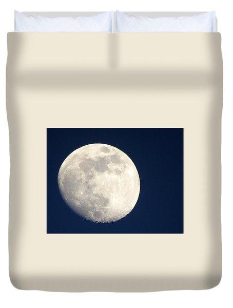 Moon In Blue Duvet Cover