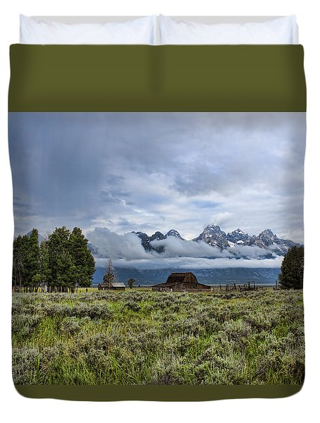 Mormon Row Duvet Cover