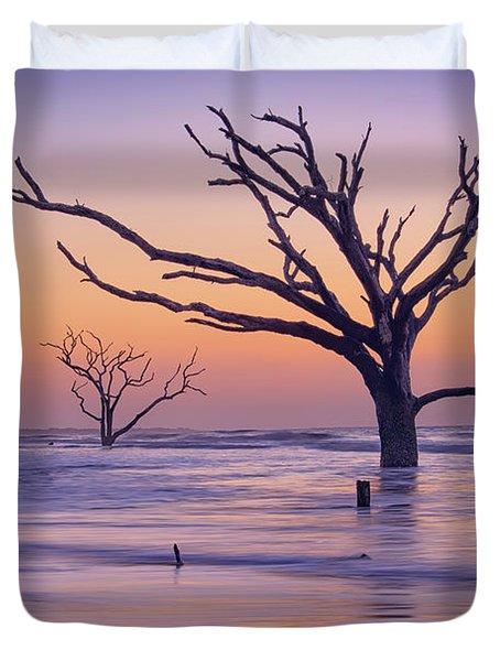 Morning At Botany Bay Plantation Duvet Cover
