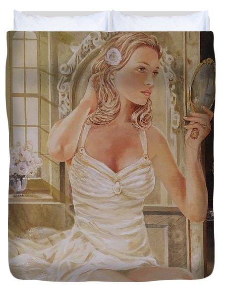 Morning Beauty Duvet Cover