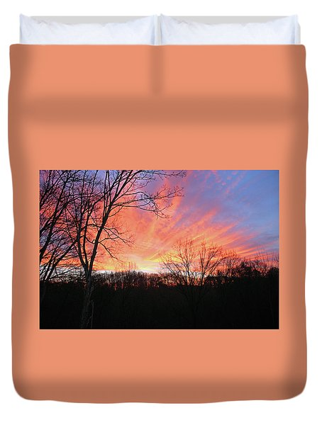 Duvet Cover featuring the photograph Morning Has Broken by Kristin Elmquist