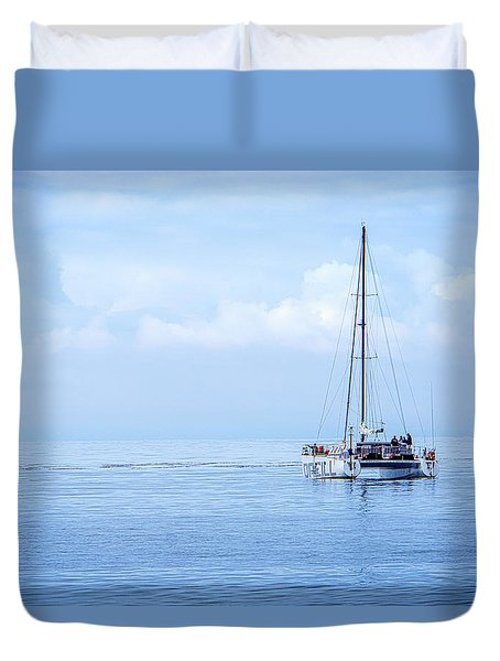 Morning Sail Duvet Cover