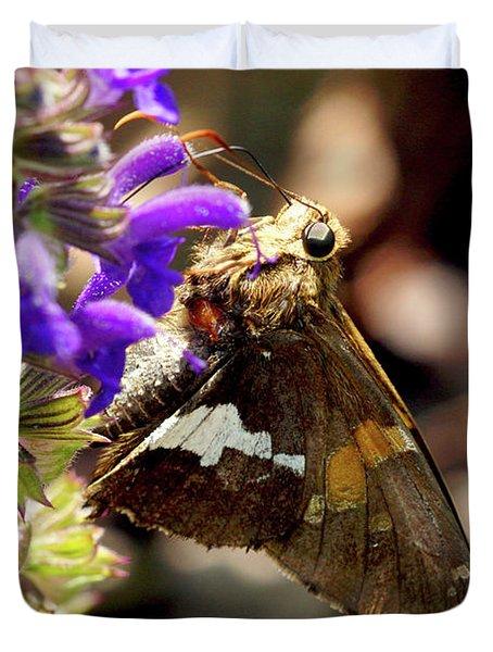 Moth Snack Duvet Cover