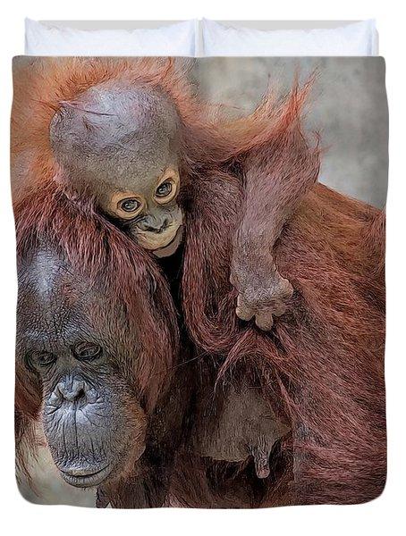 Motherhood 2 Duvet Cover