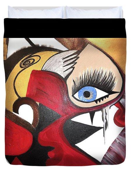 Motley Eye 2 Duvet Cover