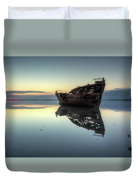 Motueka Sunrise 1 Duvet Cover
