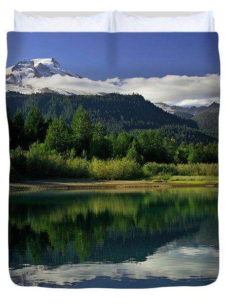 Mount Baker Duvet Cover