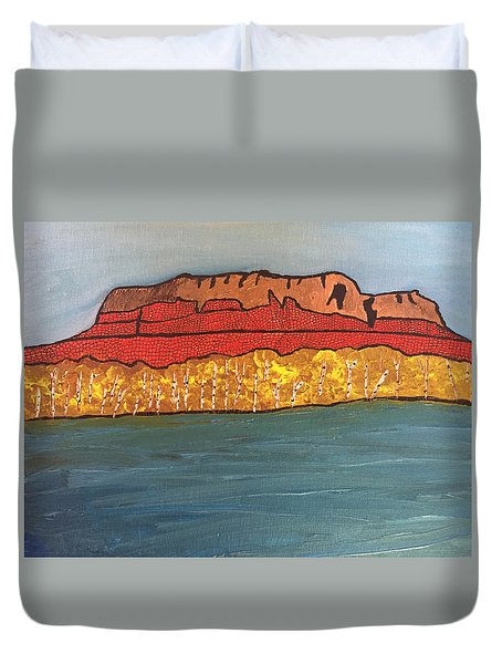 Mount Mckay Duvet Cover